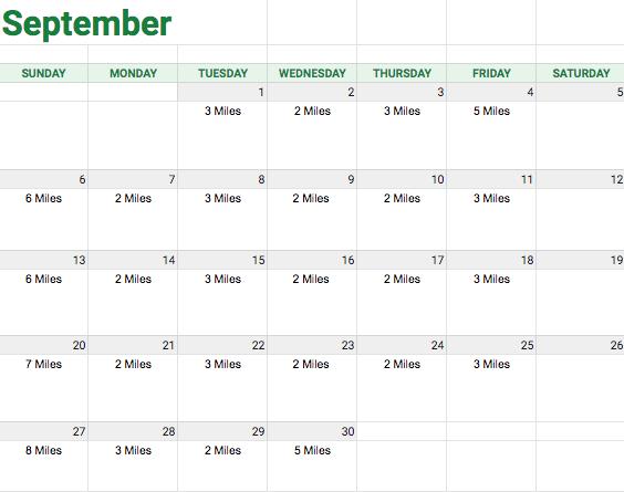Sept Running